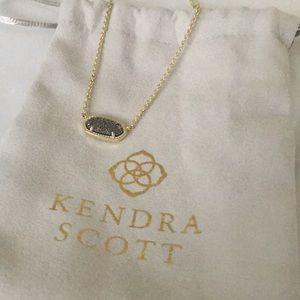 Kendra Scott Eliza Druzy necklace